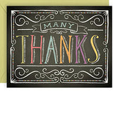 Colorful Chalk Thank You Boxed Cards
