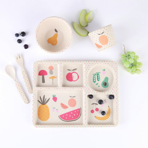Bamboo 5pc Set - Eat Your Greens