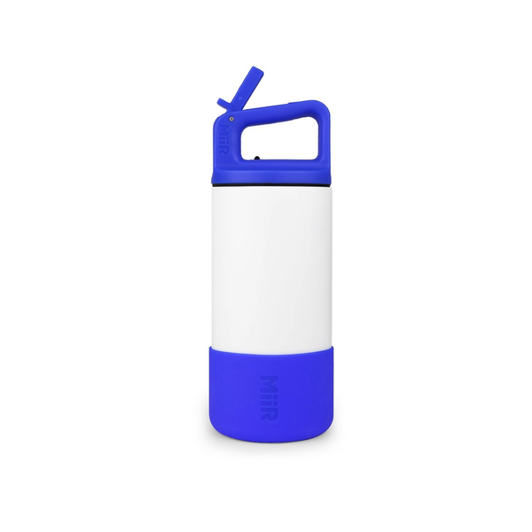 Kids Bottle | White-Blue