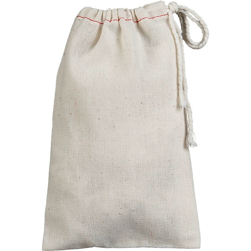 Muslin Drawstring Bag (5 pack)