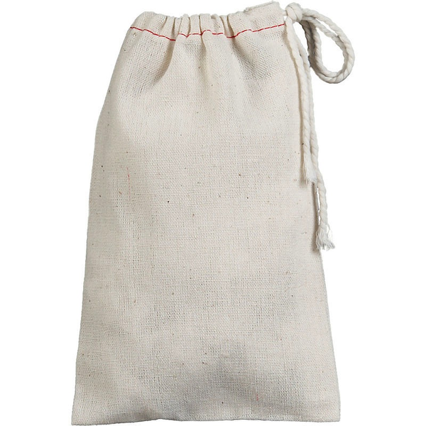 "Muslin Drawstring Bag (5 pack)  4"" x 6"""