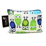 Small Snack Pouch - Owls