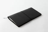 Traveler's Notebook Leather Cover - Black