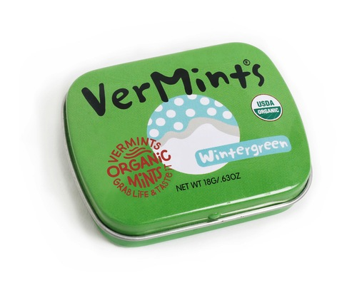 VerMints Organic Wintergreen Mints