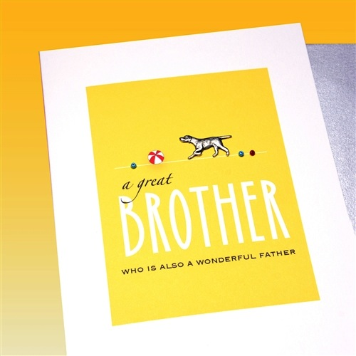 Father's Day Card - Great Brother