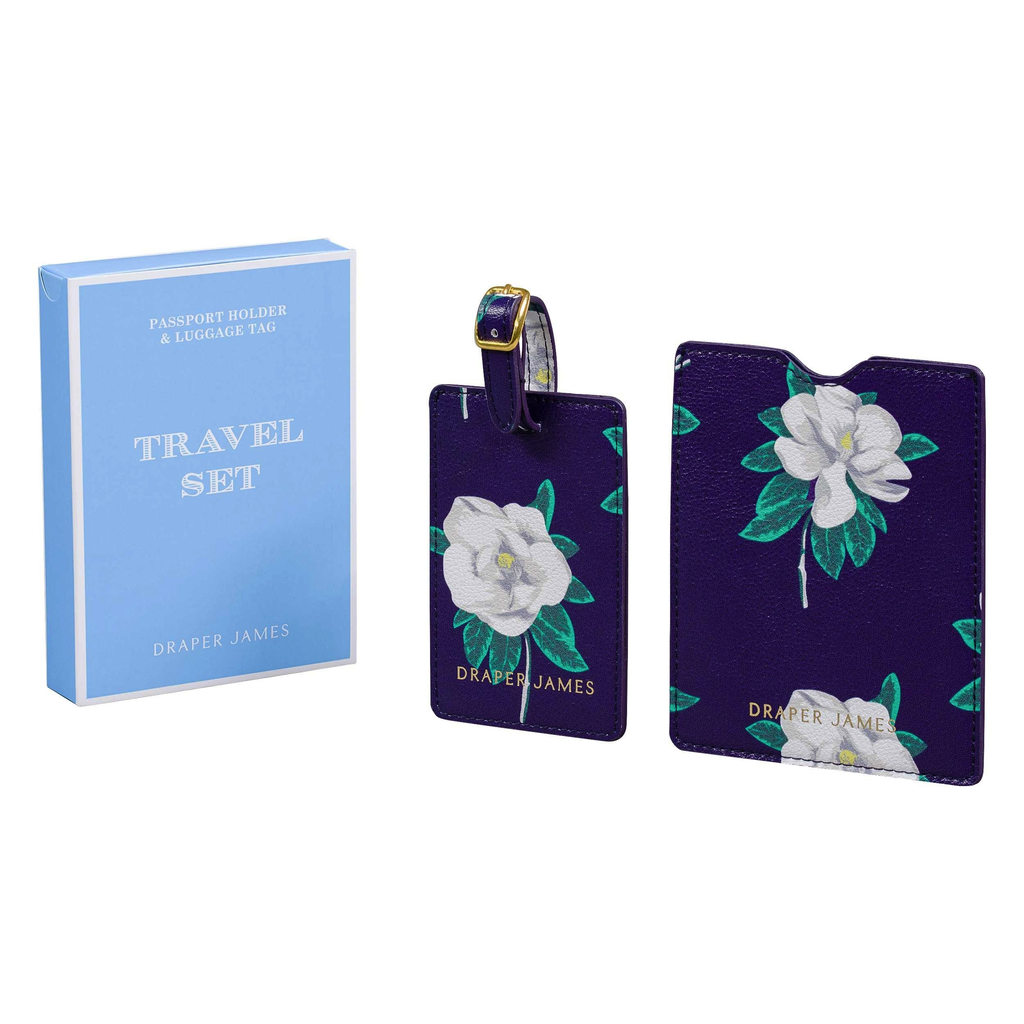 PASSPORT & LUGGAGE TAG - MAGNOLIA