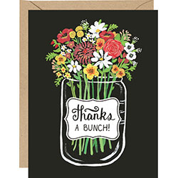 """Thanks a Bunch"" Boxed Cards"