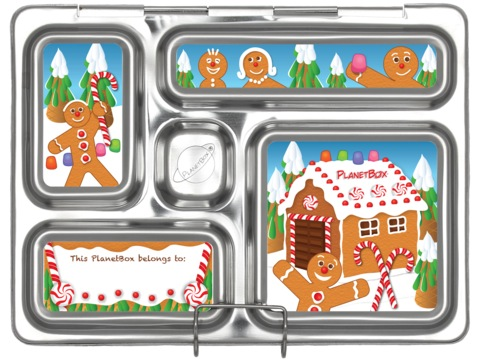 Rover Lunchbox Magnets - Gingerbread