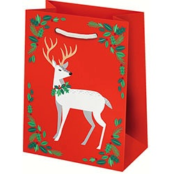 Holiday Deer Small Bag