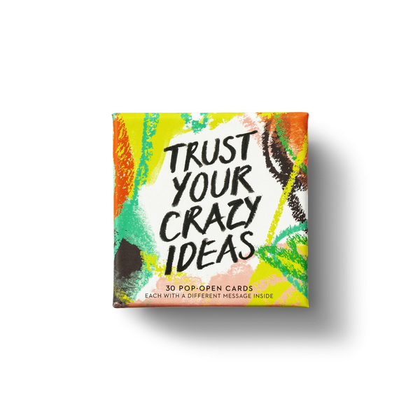 THOUGHTFULLS - Trust Your Crazy Ideas - Pop Open Cards