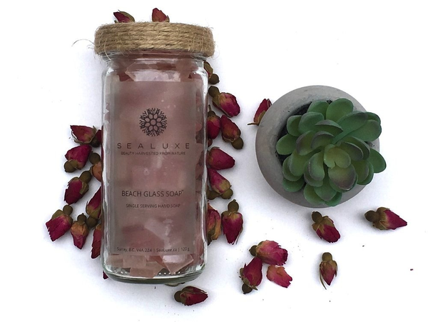Beach Glass Soap - Rose