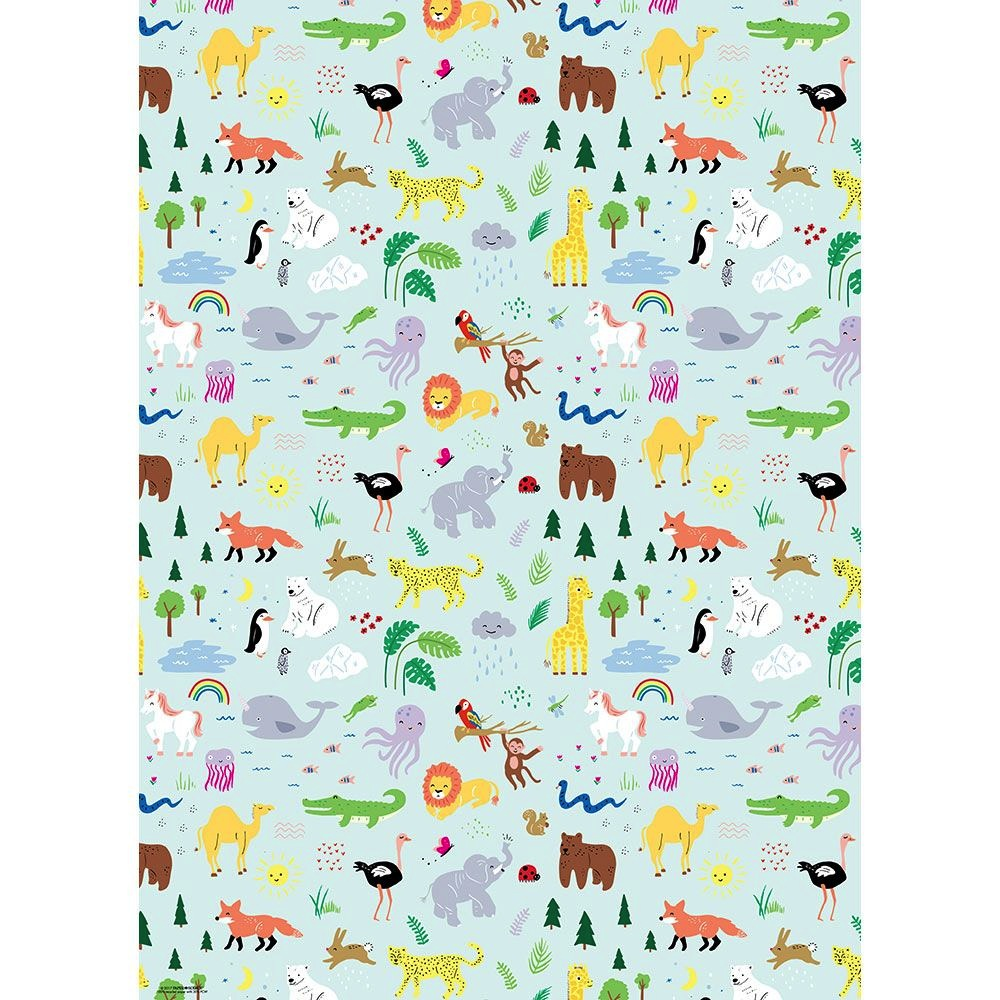 Jungle Animals - 2 Sheets/Roll