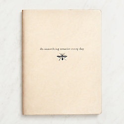 Creative Everyday Gold Lined Journal
