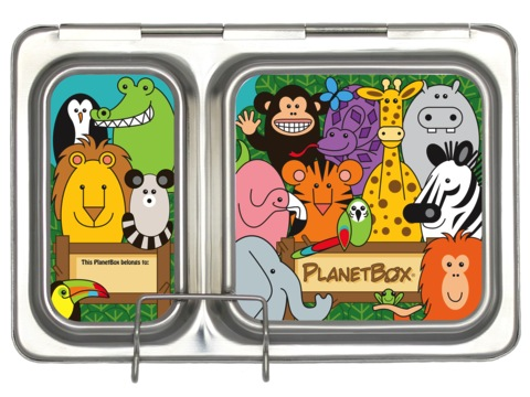 Shuttle Lunchbox Magnets - Wild Animals