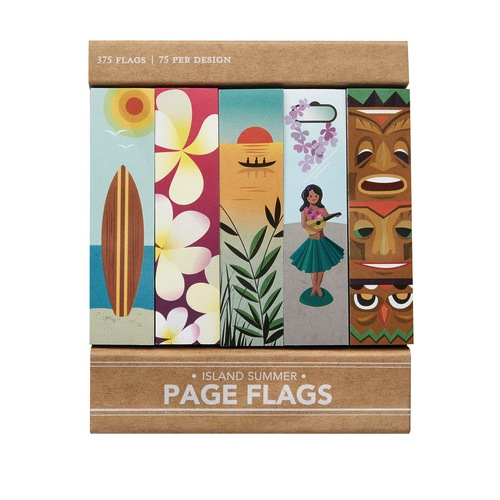 Island Summer - Page Flags