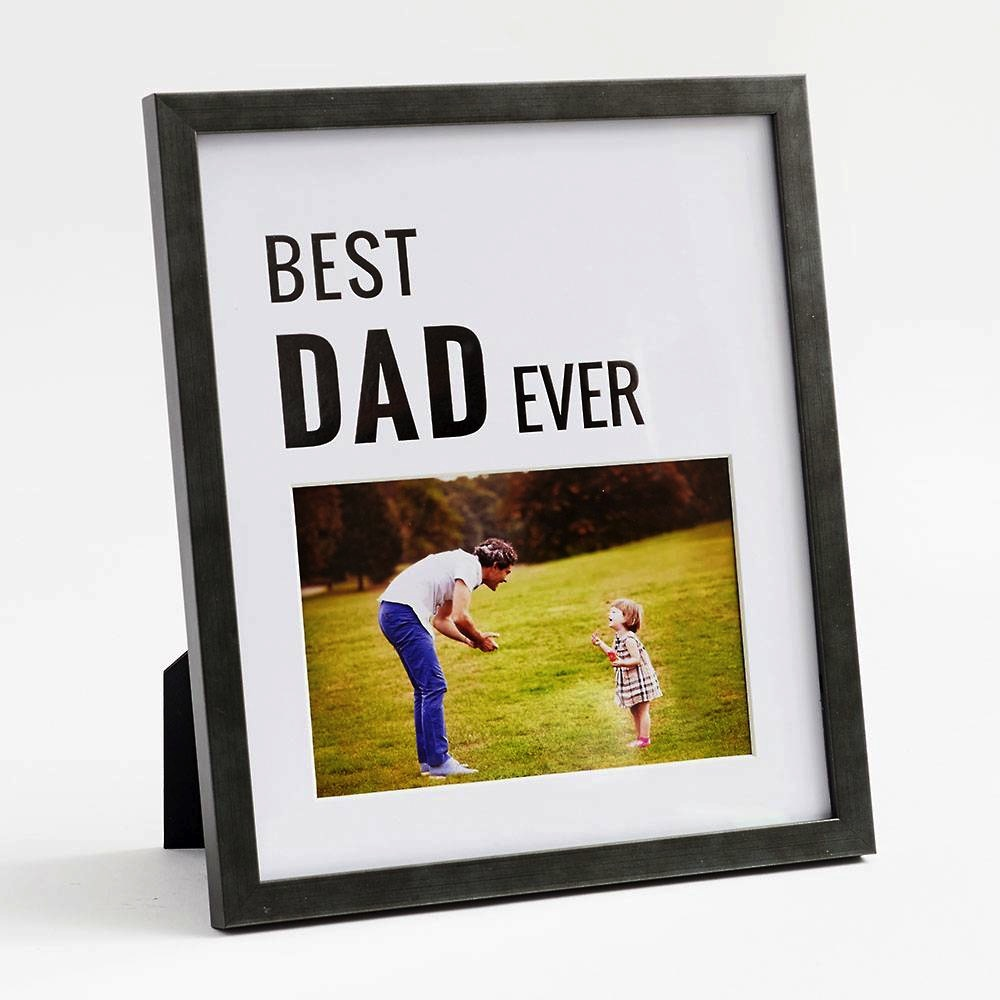 Best Dad Ever Matte Frame