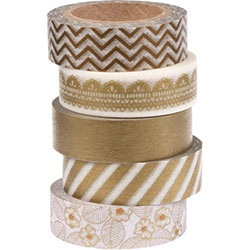 Metallic Washi Tape (Set of 5)