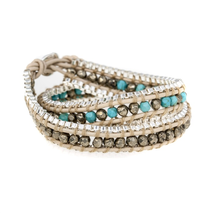 'FRIEND' 2 Wrap Bracelet