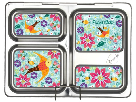 Launch Lunchbox Magnets - Flora Fun