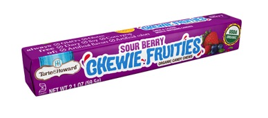 Organic Fruit SOUR Chews Stick Pack -  Sour Berry
