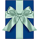 "1"" SATIN RIBBON - POOL"
