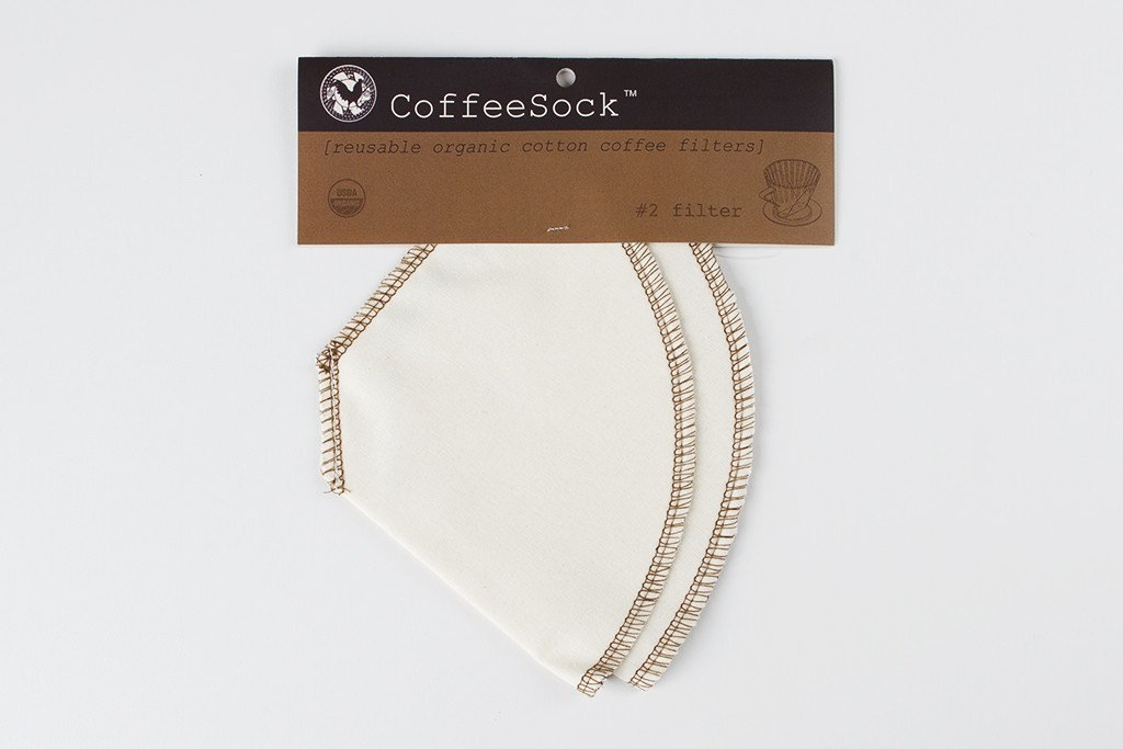 CoffeeSock - #2 Cone Filters - Pack of 2