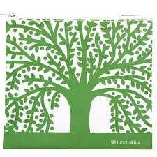 Reusable Zippered Sandwich Green Tree (now BIGGER size!)