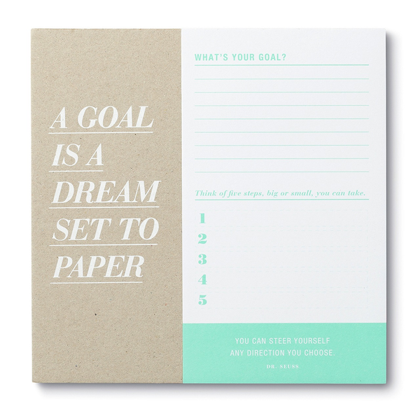 Deskpad - A Goal is a Dream