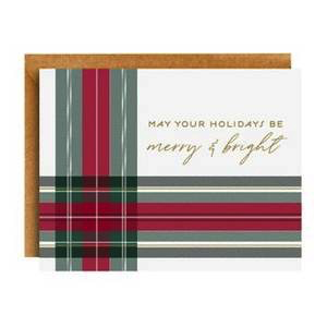 Merry and Bright Plaid