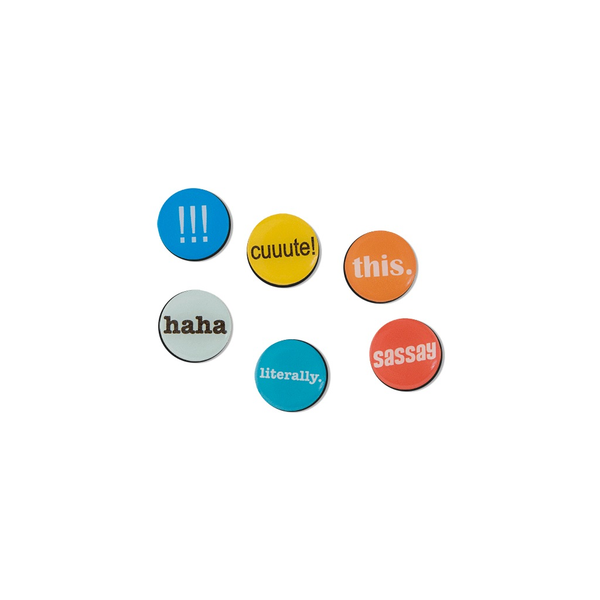 Button Magnets - MEDIA