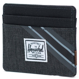 Charlie Wallet - Black Crosshatch/Black