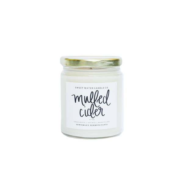 9oz Soy Candle Mulled Cider