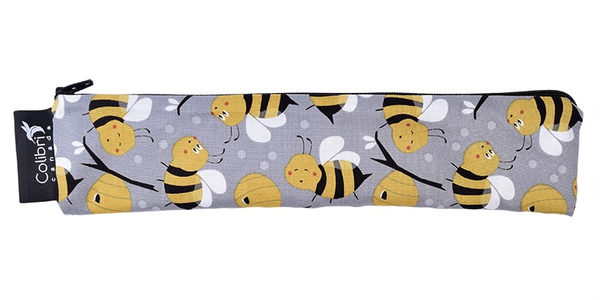 Wide Snack Pouch - Bumble Bees