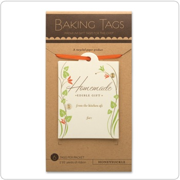 Baking Tags - Honeysuckle