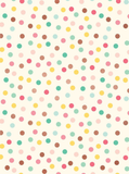 Hooray Dots with Rose Gold Gift Wrap