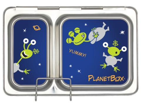 Shuttle Lunchbox Magnets - Aliens