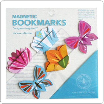 Magnetic Origami Bookmarks - Blossoms