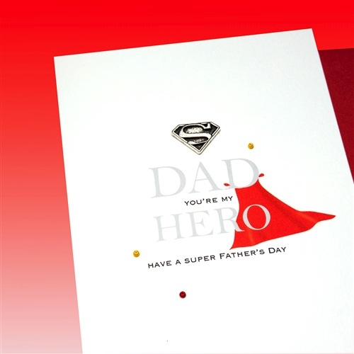 Father's Day Card - Super Hero