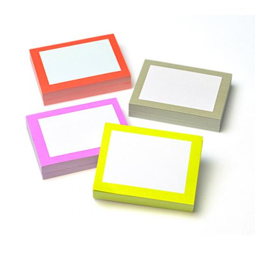 Chicklet Adhesive Notes - Multi - Set Of 8