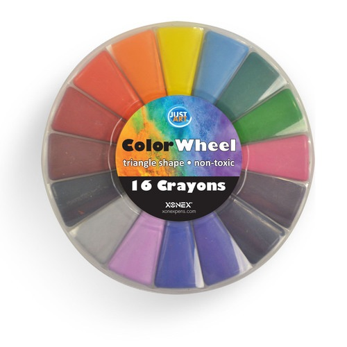 Color Wheel Crayons