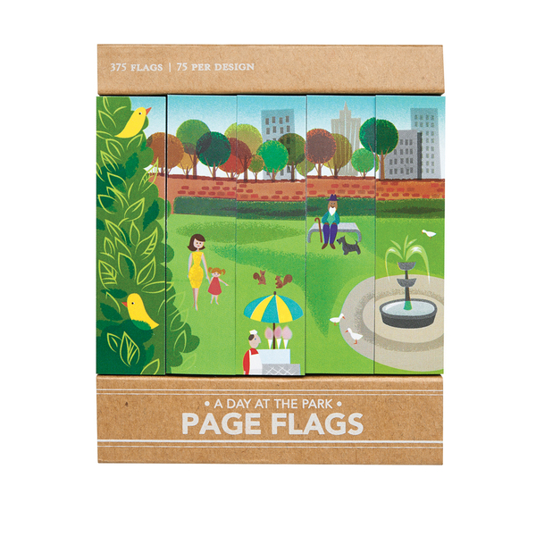 A Day at the Park - Page Flags