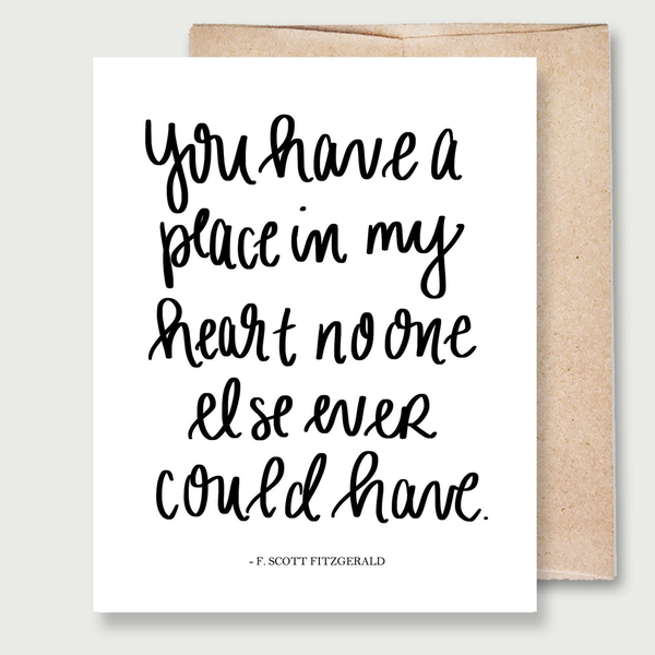 """Place In My Heart"" Scott Fitzgerald"