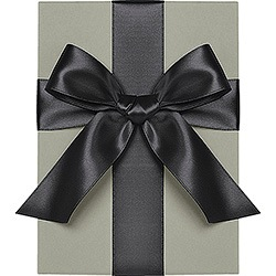 Black Satin Ribbon 1""