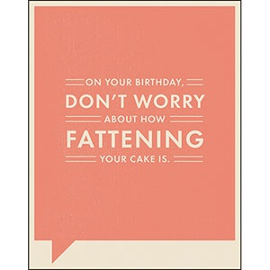 FF Card - On your birthday, don't worry