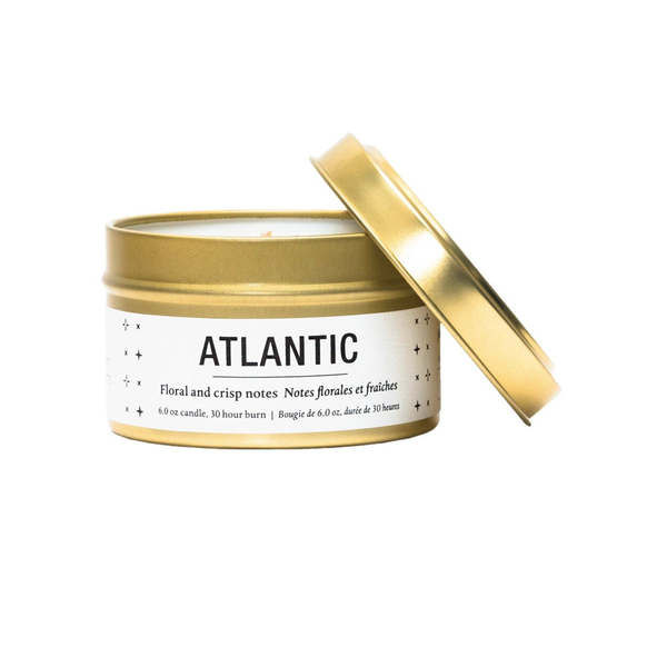Travel Tin Soy Candle - Atlantic