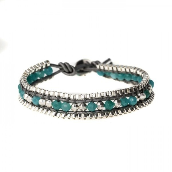 'MUM' Chain Single Wrap Bracelet