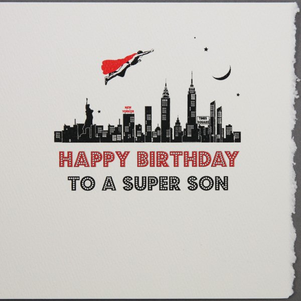Happy Birthday To A Super Son