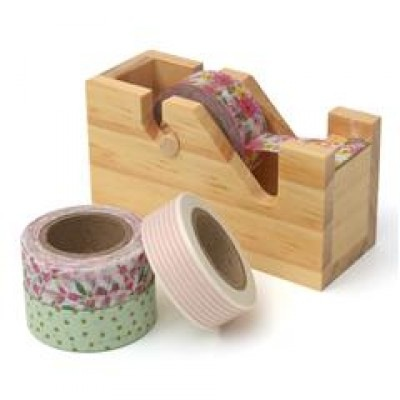 Bright Washi Tape with Dispenser