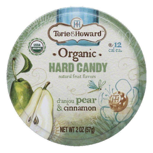 Torie & Howard Pear & Cinnamon - tin candy