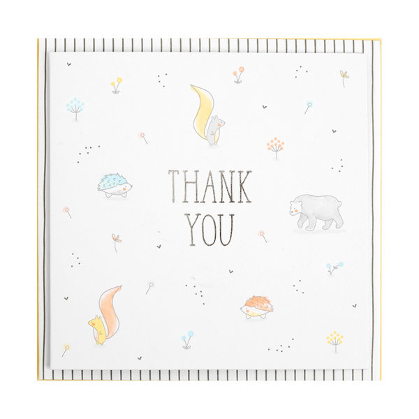 kikki k - THANK YOU CARDS 10PK HELLO WORLD